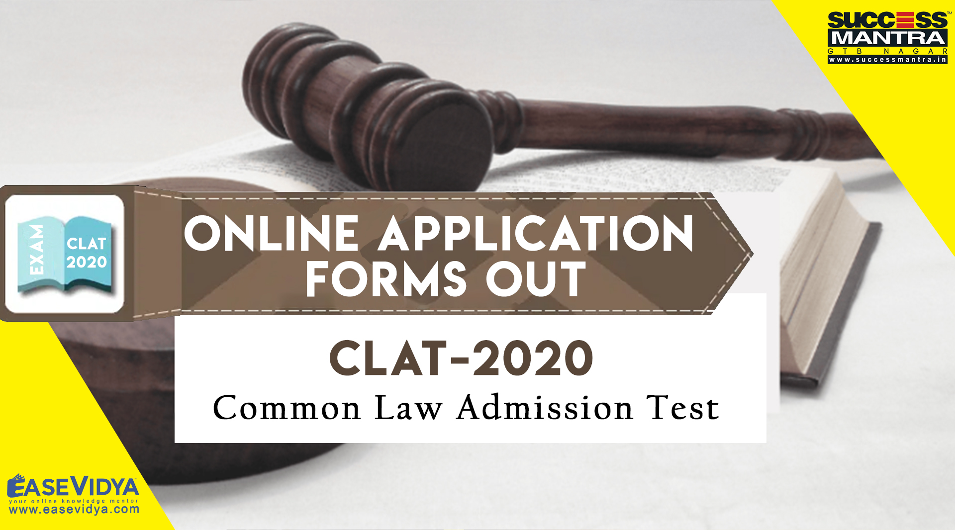 CLAT 2020 APPLICATION FORMS OUT | Know the Dates, Application, Eligibility, Syllabus, Last Date to Apply, Pattern and All About CLAT Entrance Exam