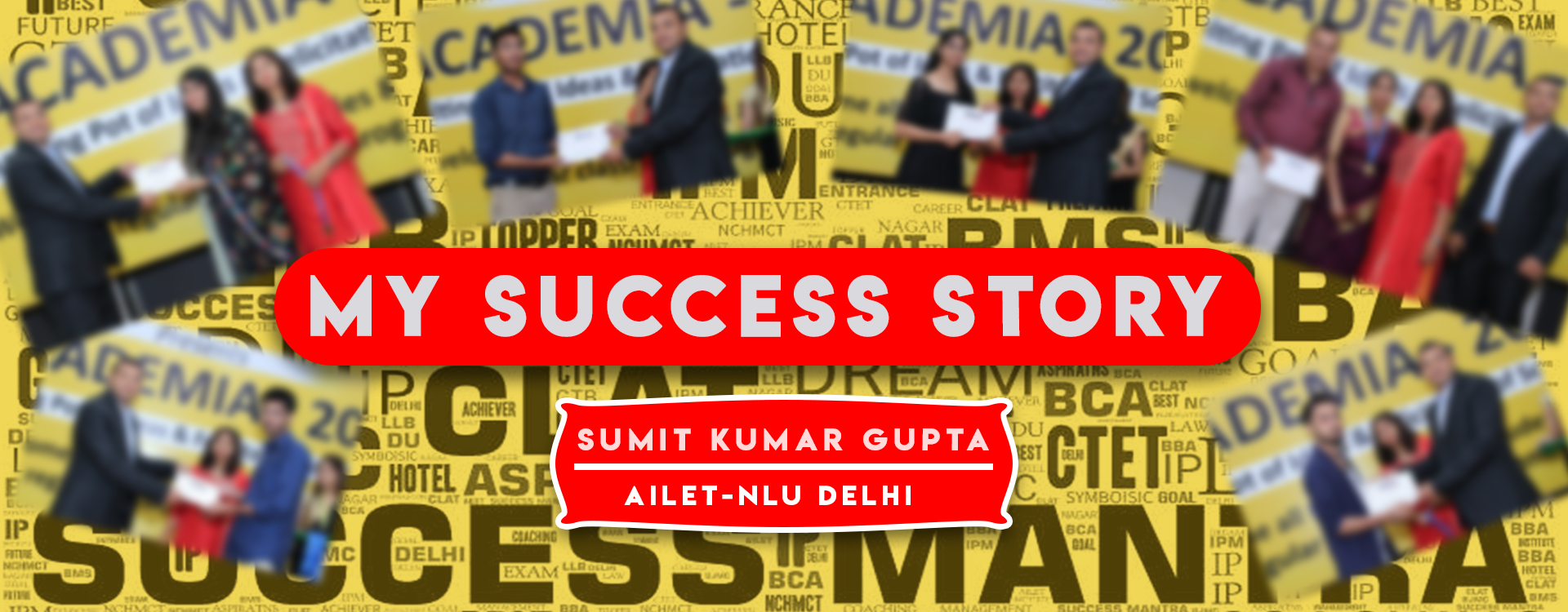CLAT, AILET, DU LLB, Law Entrance Success Stories, Law Entrance Exam Toppers, Full Interview, Success Mantra Coaching Toppers and Rankers