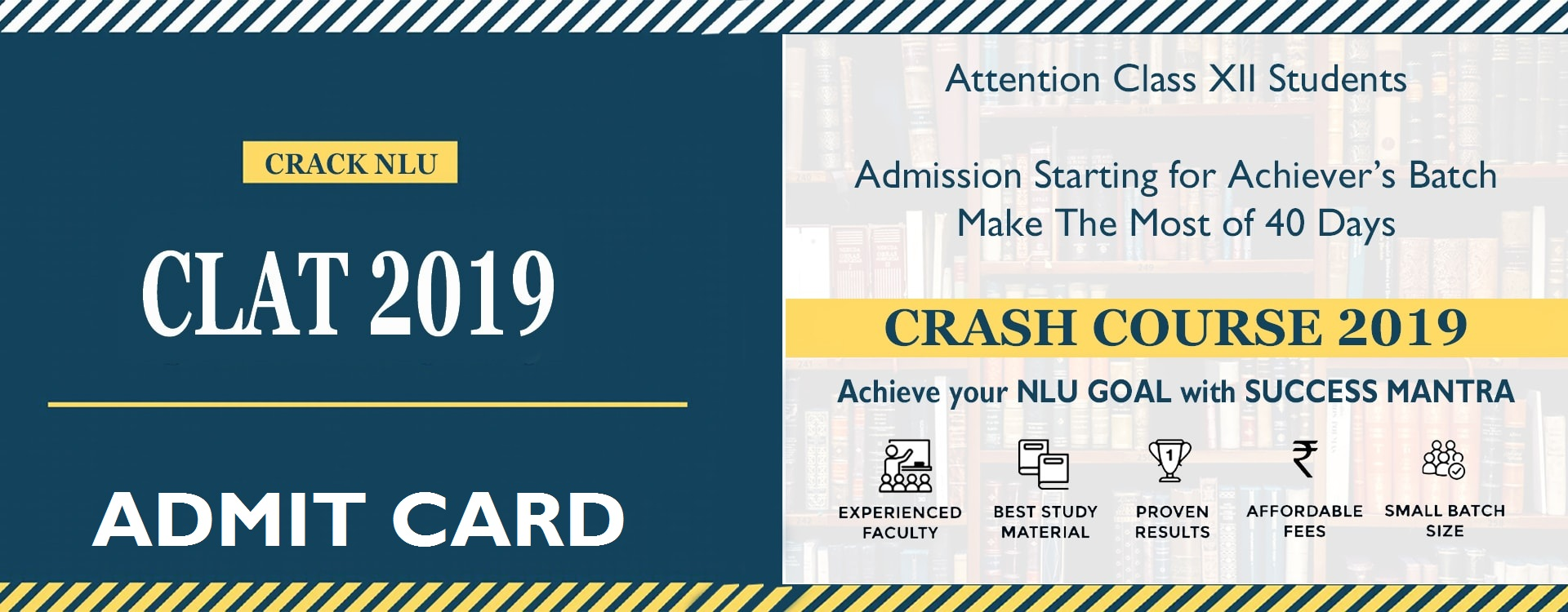 CLAT 2019 Admit Card Download, Hall Ticket, Common Law Admission Test, Success Mantra