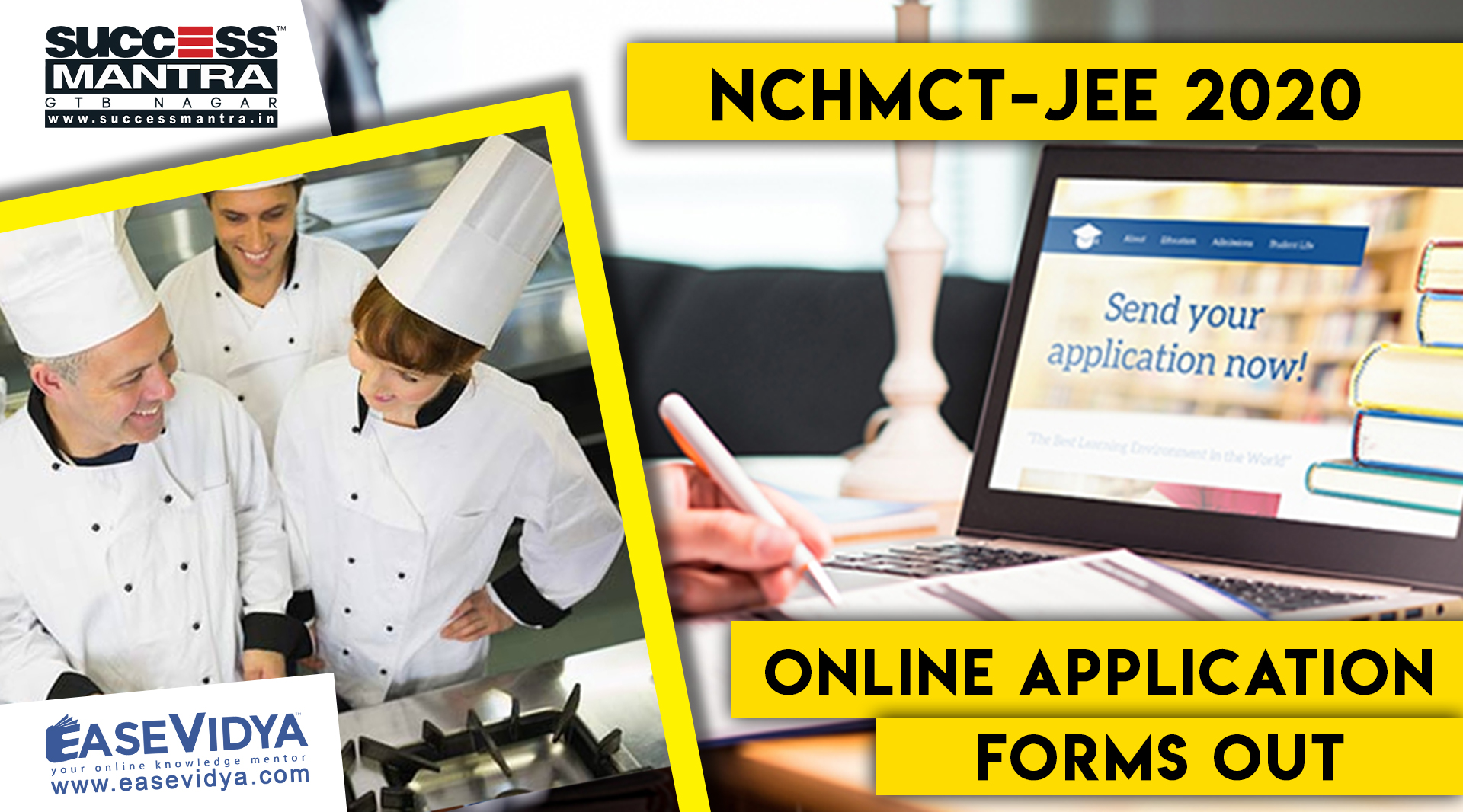 NCHMCT JEE 2020 APPLICATION FORMS OUT | Know the Dates, Application, Syllabus, Last Date to Apply, Pattern And All About NCHMCT JEE Entrance Exam | Success Mantra Coaching For Hotel Management