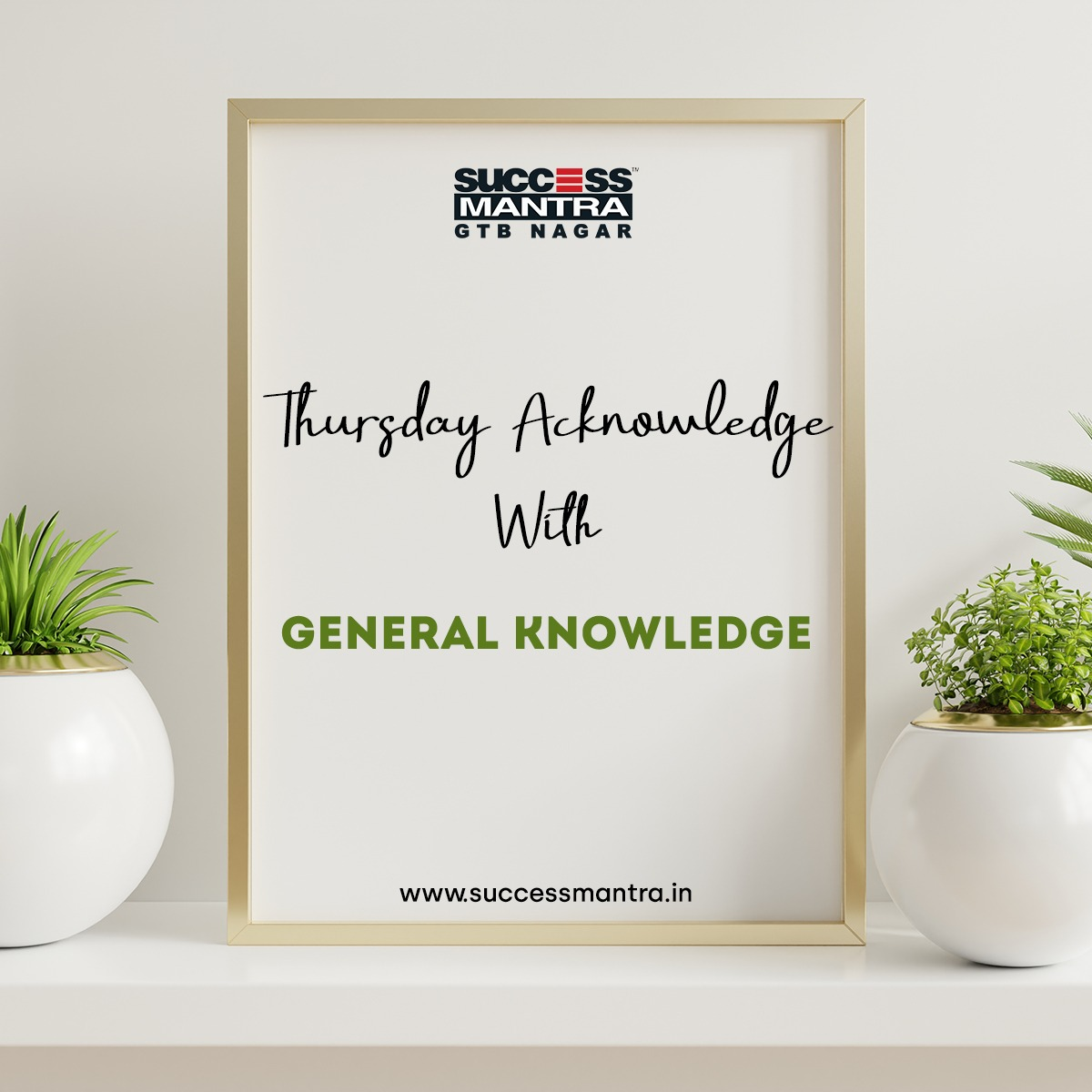 Passage based Questions on General Knowledge and Current affairs SMGKQ042