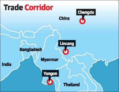 CHINA'S NEW SEA ROAD-RAIL LINK TO INDIAN OCEAN
