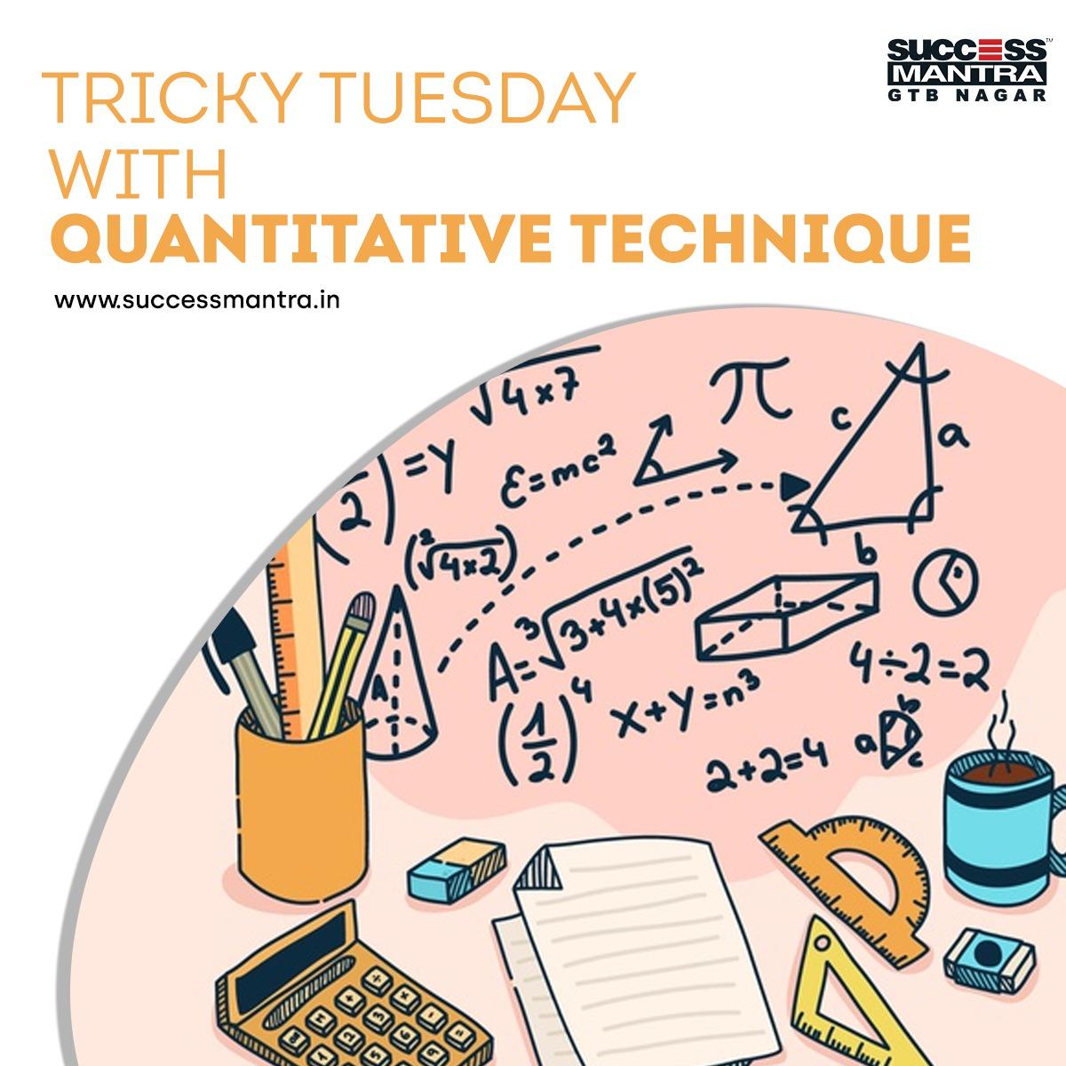 Questions On Quantitative Techniques SMQTQ028
