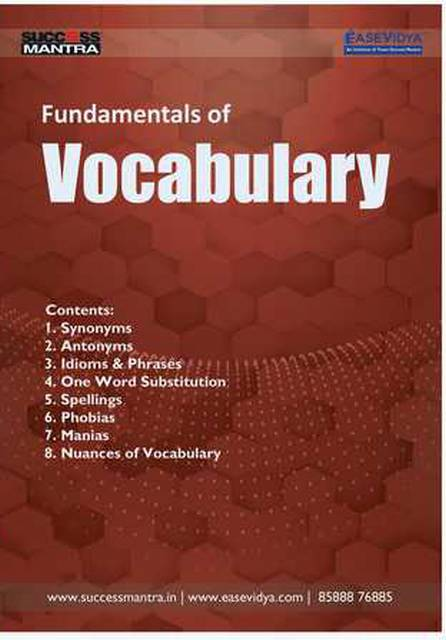 Fundamentals Of Vocabulary