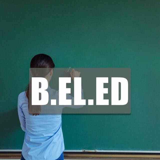 B.El.Ed