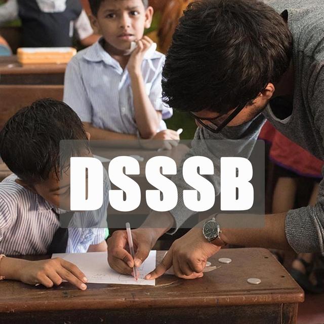 DSSSB - PRT | TGT