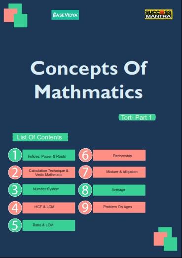 Concepts of Mathematics Part 01