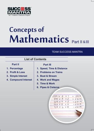 Concepts of Mathematics Part 02 & 03